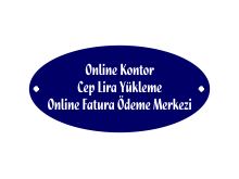 Online Kontor Cep Lira Yükleme Online Fatura Ödeme Merkezi