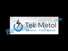 Tek Metal Kaplama - Yüzey İşlemleri