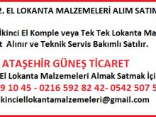Ataşehir Güneş Ticaret,   2.el Lokanta Malzemeleri  Alanlar &  Satanlar.